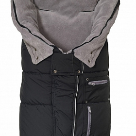 AL2274C Altabebe Зимний конверт Clima Guard, black/light grey