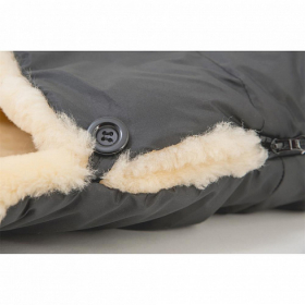 MT2200-LP Altabebe Зимний конверт Lambskin-Footmuff, dark grey